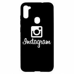Чехол для Samsung A11/M11 Instagram