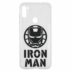 Чохол для Samsung A11/M11 Iron man text