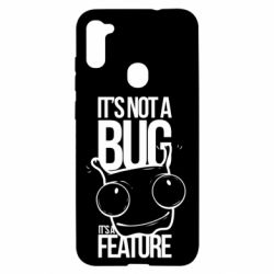 Чехол для Samsung A11/M11 It's not a bug it's a feature