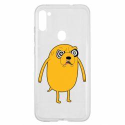 Чохол для Samsung A11/M11 Jake from  Adventure Time