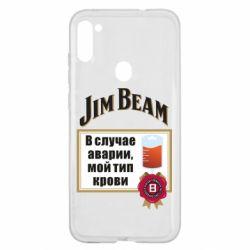 Чохол для Samsung A11/M11 Jim beam accident