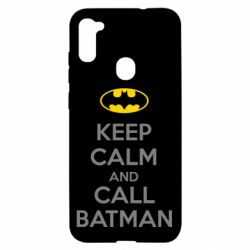 Чехол для Samsung A11/M11 KEEP CALM and CALL BATMAN