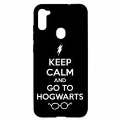 Чехол для Samsung A11/M11 KEEP CALM and GO TO HOGWARTS