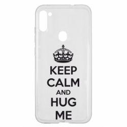 Чохол для Samsung A11/M11 KEEP CALM and HUG ME