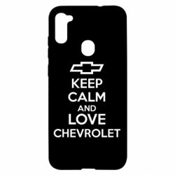 Чохол для Samsung A11/M11 KEEP CALM AND LOVE CHEVROLET