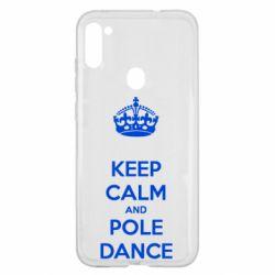 Чехол для Samsung A11/M11 KEEP CALM and pole dance