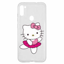 Чехол для Samsung A11/M11 Kitty балярина