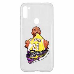 Чехол для Samsung A11/M11 Kobe Bryant and sneakers