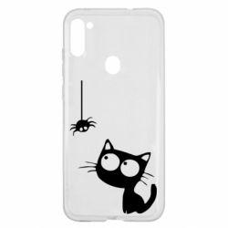 Чохол для Samsung A11/M11 Котик і павук