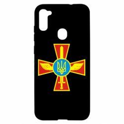 Чохол для Samsung A11/M11 Хрест з мечем та гербом