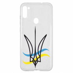 Чохол для Samsung A11/M11 Кумедний герб України