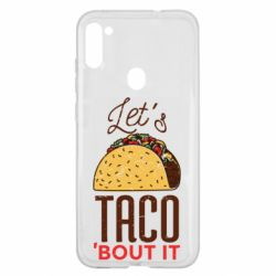 Чехол для Samsung A11/M11 Let's taco bout it
