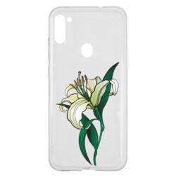 Чохол для Samsung A11/M11 Lily flower