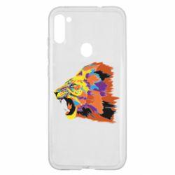 Чехол для Samsung A11/M11 Lion multicolor