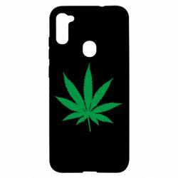 Чохол для Samsung A11/M11 Листочок марихуани