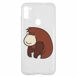Чехол для Samsung A11/M11 Little monkey