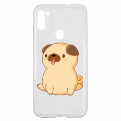 Чехол для Samsung A11/M11 Little pug
