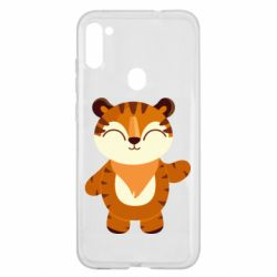 Чехол для Samsung A11/M11 Little tiger with a smile