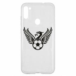 Чохол для Samsung A11/M11 Liverpool and soccer ball