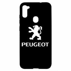 Чехол для Samsung A11/M11 Логотип Peugeot