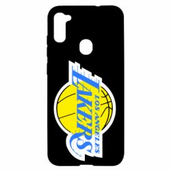 Чехол для Samsung A11/M11 Los Angeles Lakers