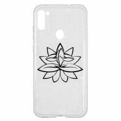 Чохол для Samsung A11/M11 Lotus yoga