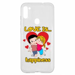 Чохол для Samsung A11/M11 love is...happyness