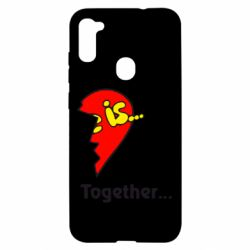 Чохол для Samsung A11/M11 Love is...Together