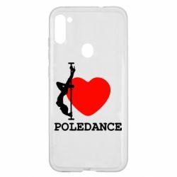 Чохол для Samsung A11/M11 Love Pole Dance
