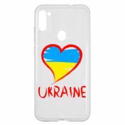 Чохол для Samsung A11/M11 Love Ukraine