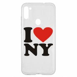 Чохол для Samsung A11/M11 Люблю Нью Йорк