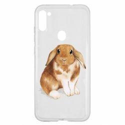 Чохол для Samsung A11/M11 Маленький кролик