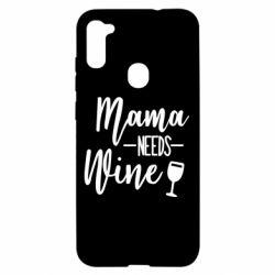 Чехол для Samsung A11/M11 Mama need wine