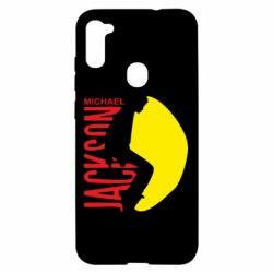 Чехол для Samsung A11/M11 Майкл Джексон