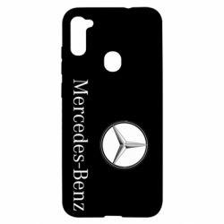 Чехол для Samsung A11/M11 Mercedes-Benz Logo