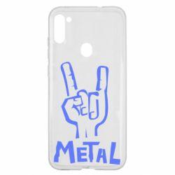 Чехол для Samsung A11/M11 Metal