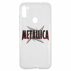 Чохол для Samsung A11/M11 Логотип Metallica