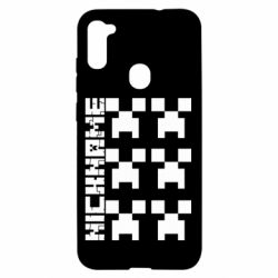 Чохол для Samsung A11/M11 Minecraft and nickname