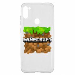 Чохол для Samsung A11/M11 Minecraft Main Logo