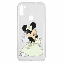 Чехол для Samsung A11/M11 Minnie Mouse Bride