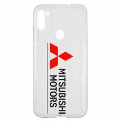 Чехол для Samsung A11/M11 Mitsubishi Motors лого