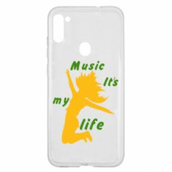Чохол для Samsung A11/M11 Music it's my life