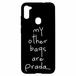 Чохол для Samsung A11/M11 My other bags are prada