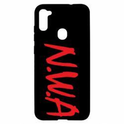 Чехол для Samsung A11/M11 N.W.A Logo