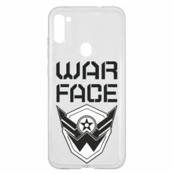 Чохол для Samsung A11/M11 Напис Warface