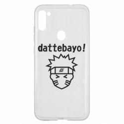 Чохол для Samsung A11/M11 Naruto dattebayo!