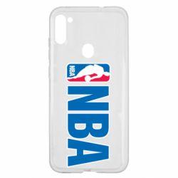 Чехол для Samsung A11/M11 NBA Logo