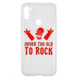 Чехол для Samsung A11/M11 Never old to rock (Gomer)
