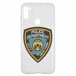 Чехол для Samsung A11/M11 New York Police Department
