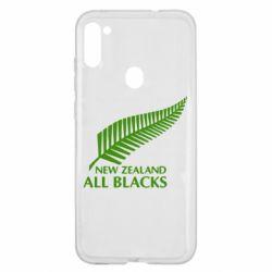 Чохол для Samsung A11/M11 new zealand all blacks